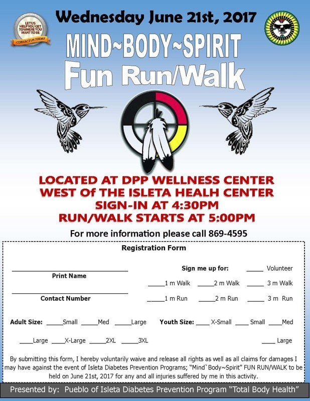 fun run walk flyer