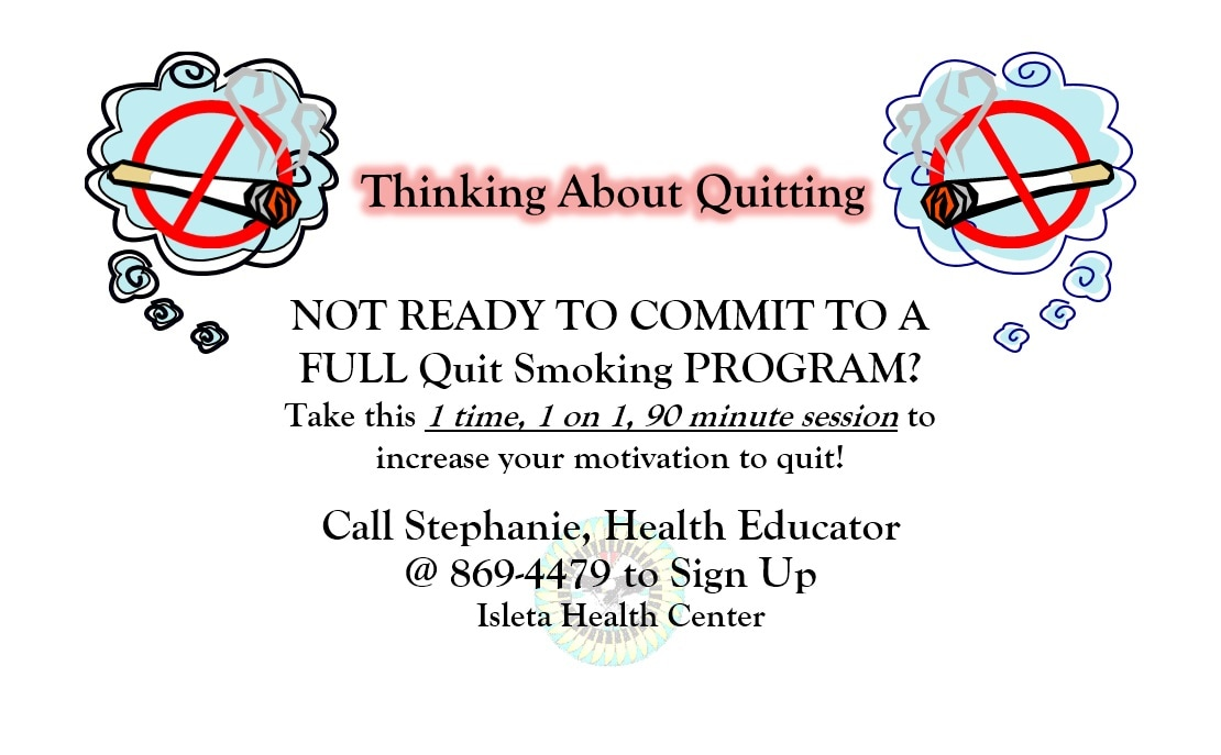 Intro to Thinking About Quitting Smoking at Isleta Health Center