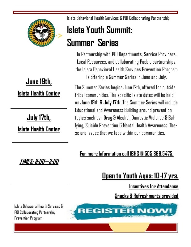 2017 Isleta Youth Summit Event