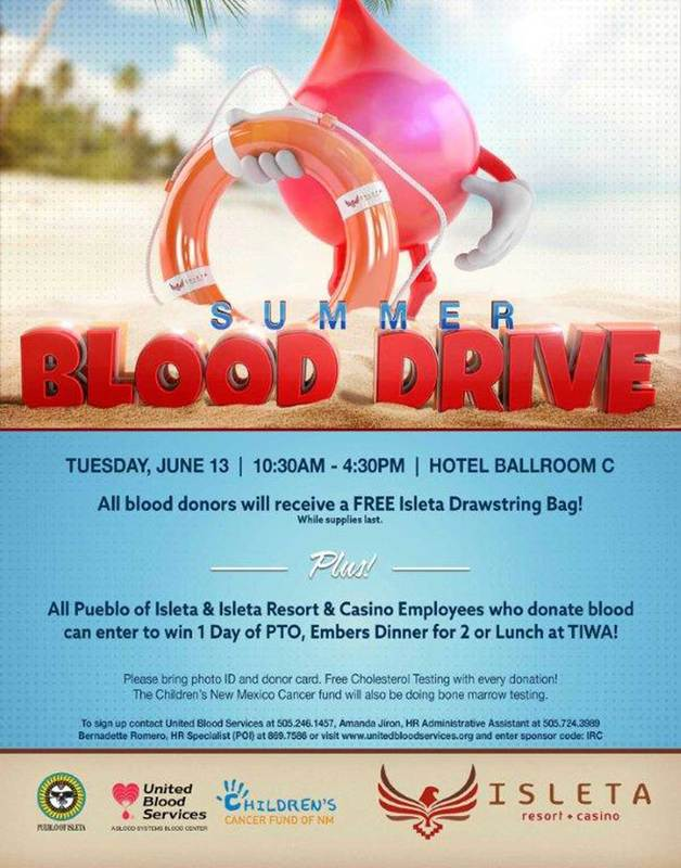 2017 Summer Blood Drive